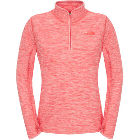 The North Face Motivation 1/4 Zip Dam melon red hthr
